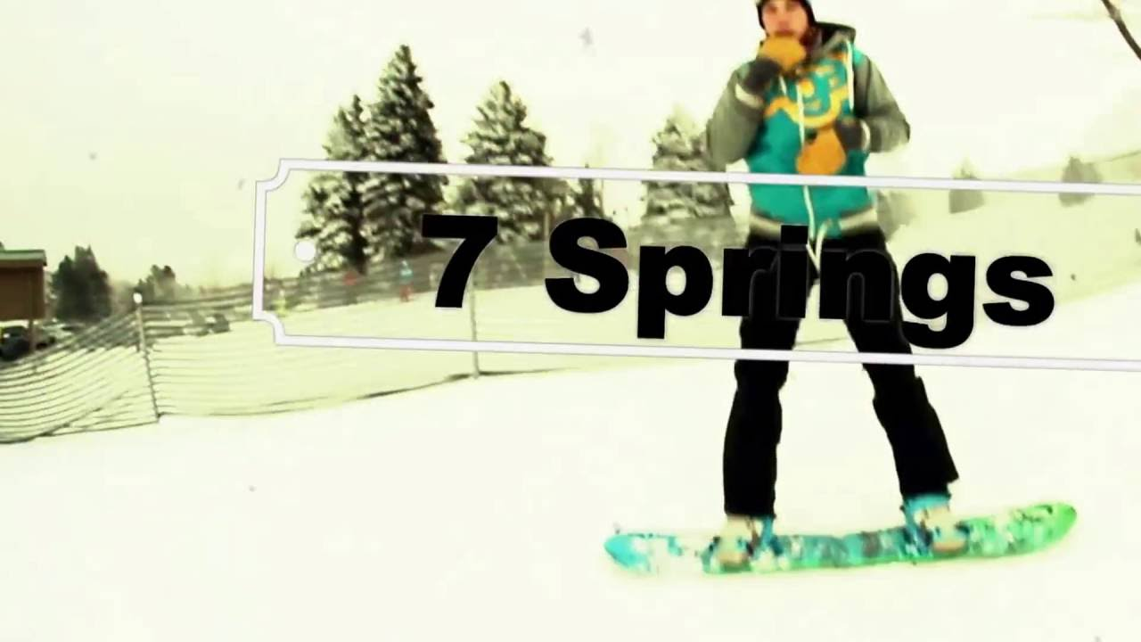 7 springs snowboard edit (hd) 2016