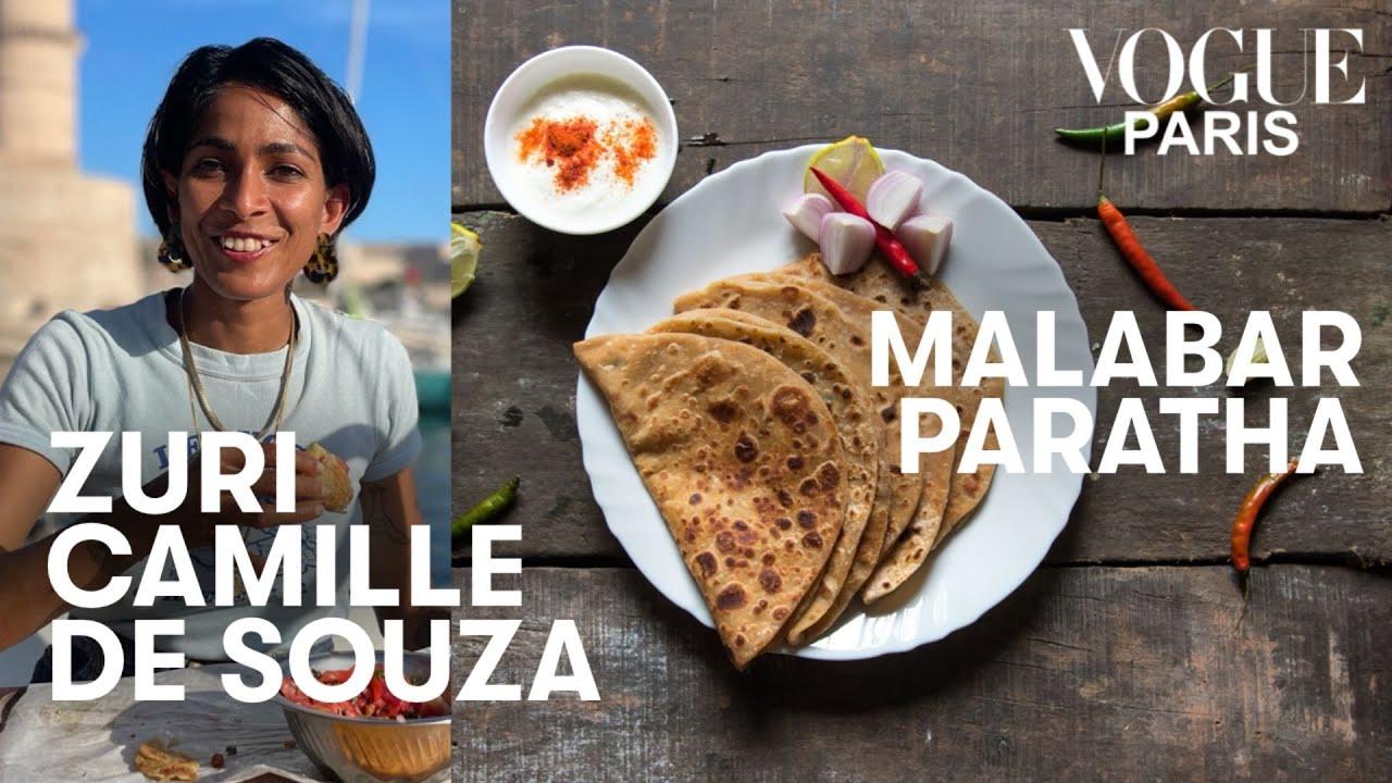 La recette des Malabar parathas de Zuri Camille de Souza | Vogue Kitchen | Vogue Paris