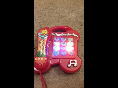 Kid's toy phone.play music,color light,learn pronunciation.good gift for kids