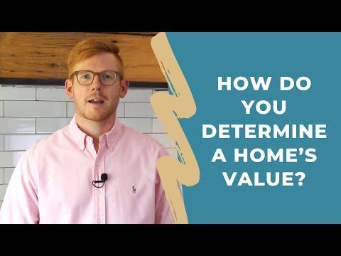 How Do You Determine a Home's Value?