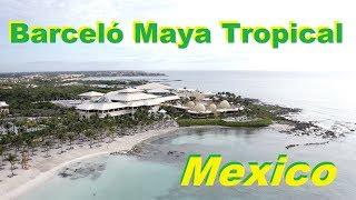 Mexico hotel Barcelo Maya Tropical Путешествие по Мексике фильм 15