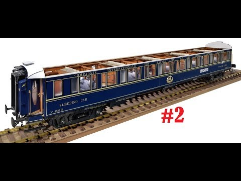Official Build Diary Amati Orient Express #2 deutsch