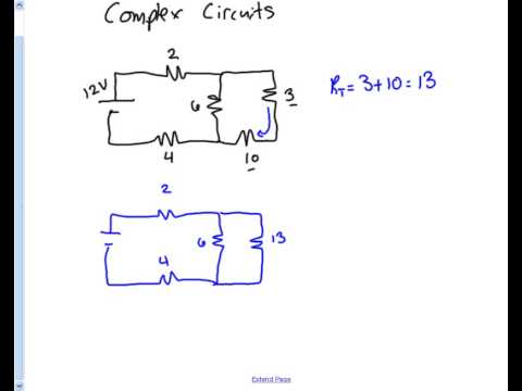 Complex Circuits - Total Resistance - YouTube
