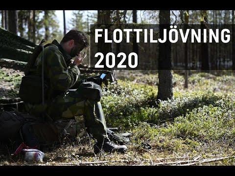 Flottiljövning 2020 -