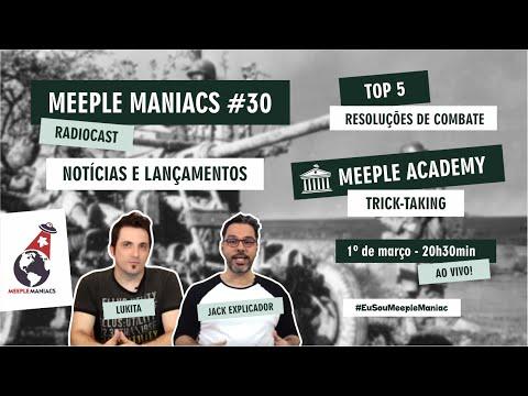 Meeple Maniacs #030 - Trick-Taking - Top 5 Resoluções de Combate