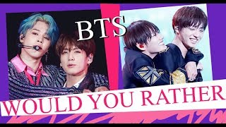 Bts Would You Rather Game