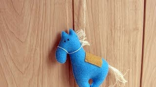 How To Make A Cute Felt Horse - Diy Crafts Tutorial - Guidecentral
