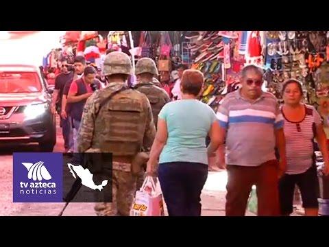 Mercado Central de Acapulco sigue siendo un punto de inseguridad