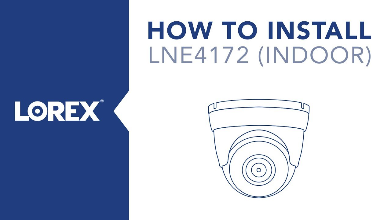 Lorex Camera Wiring Diagram Multiple Trusted Q See Security For How To Install The Lne4172 From Indoors Youtube
