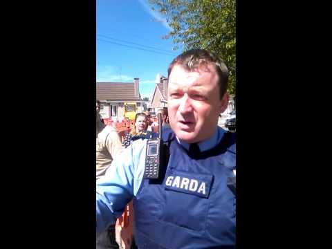 Errigal GMC Irish water contractor hits a woman !!