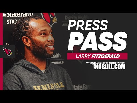 Larry Fitzgerald: 'You Could Feel The Pressure' | Arizona Cardinals