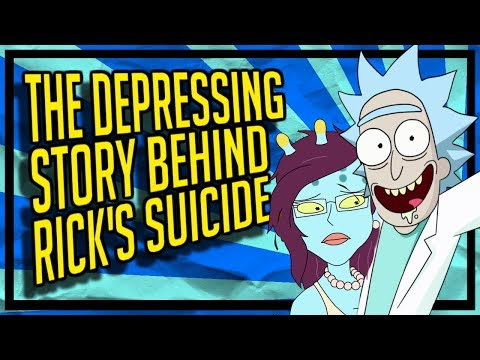 The Depressing Story Behind Ricks Suicide Attempt (Rick and Morty Theory/Video Essay)