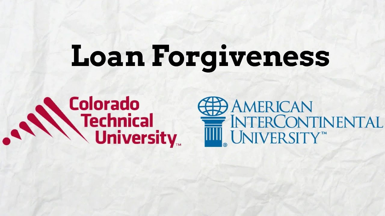 Loan Forgiveness For Ctu And Aiu