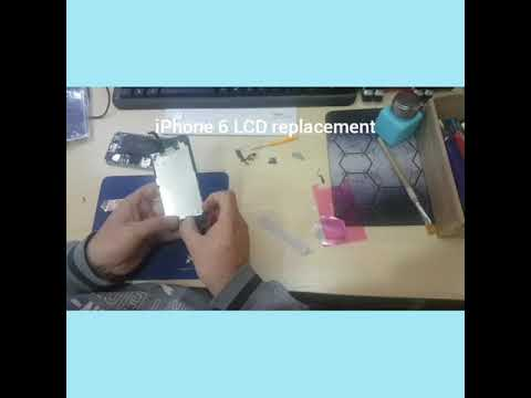 iPhone 6 LCD Screen Replacement How To Change Display Disassembly