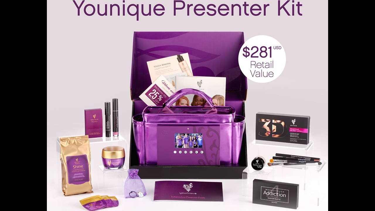 2017 new presenter kit from younique youtube