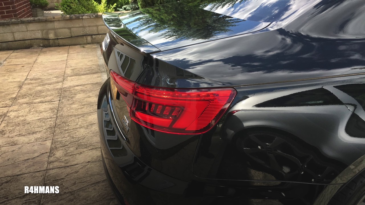 Audi A4 B9 Spoiler Fitted - YouTube