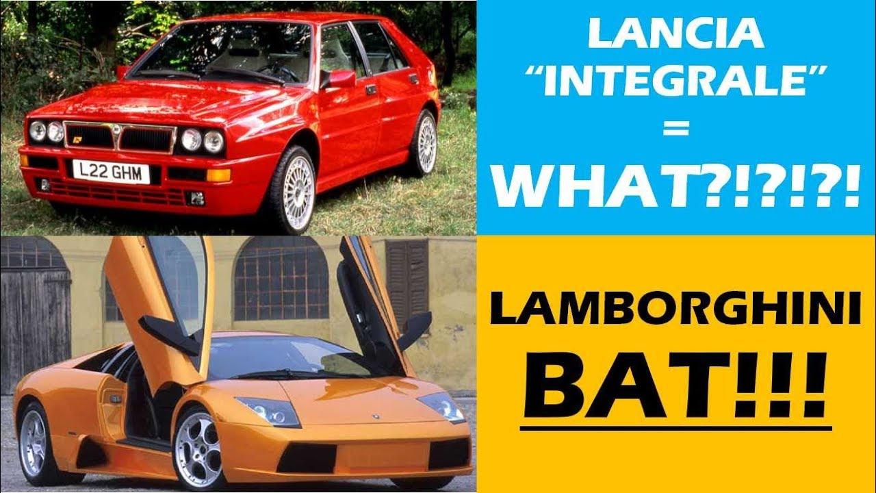 Italian Car Names Real Meanings