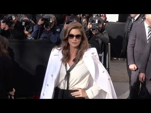 Cindy Crawford, Haim and more arriving for the Chanel Ready to Wear Fashion Show