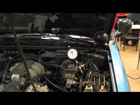 How to identify and repair a leaking fuel pressure regulator (GM CPI system) part 1