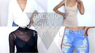 Fashion Nova Back to School Try On Haul