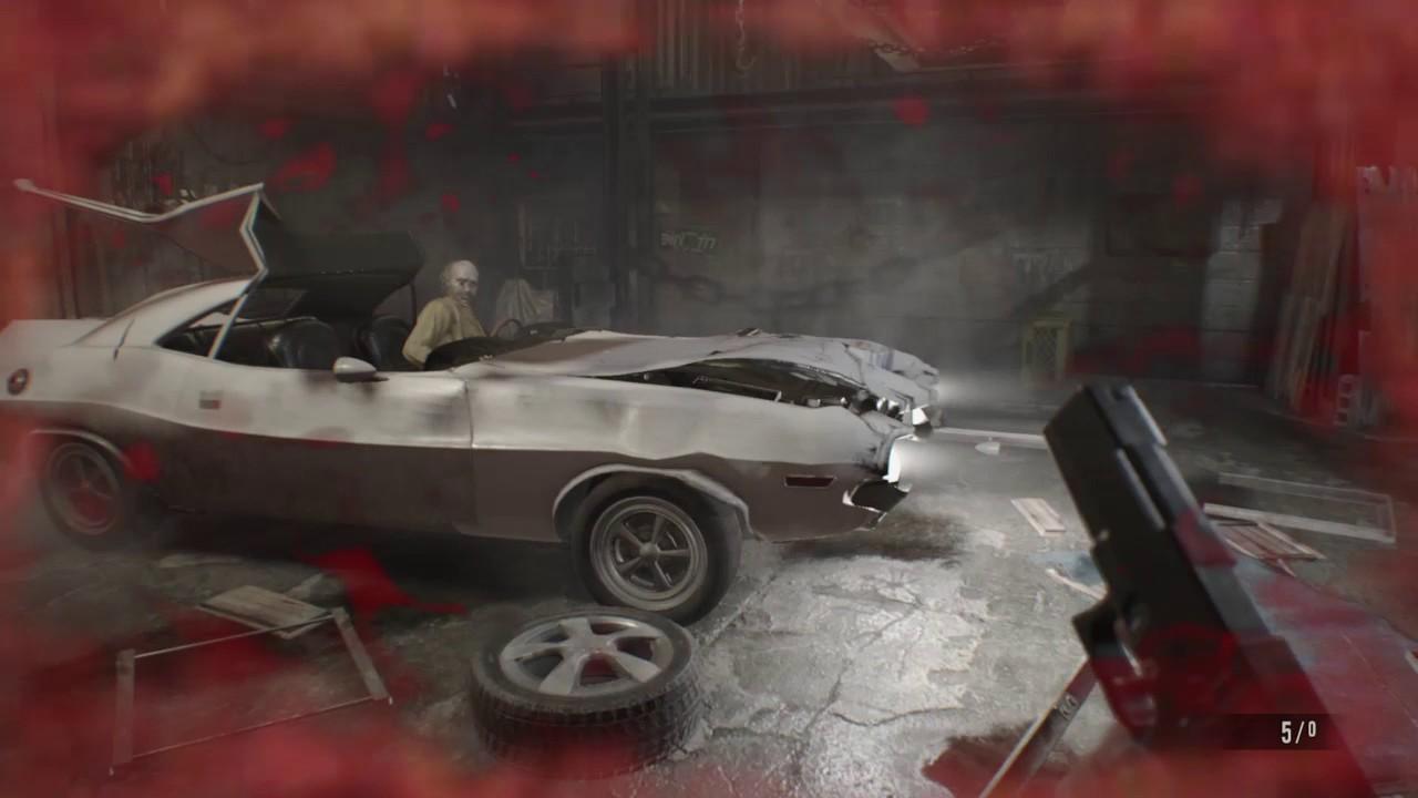 Resident Evil 7 Biohazard Ethan Hit By Car Death Youtube