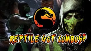 REPTILE GOT COMBOS?!: WEEK OF! Reptile - Pt. 4 Mortal Kombat X