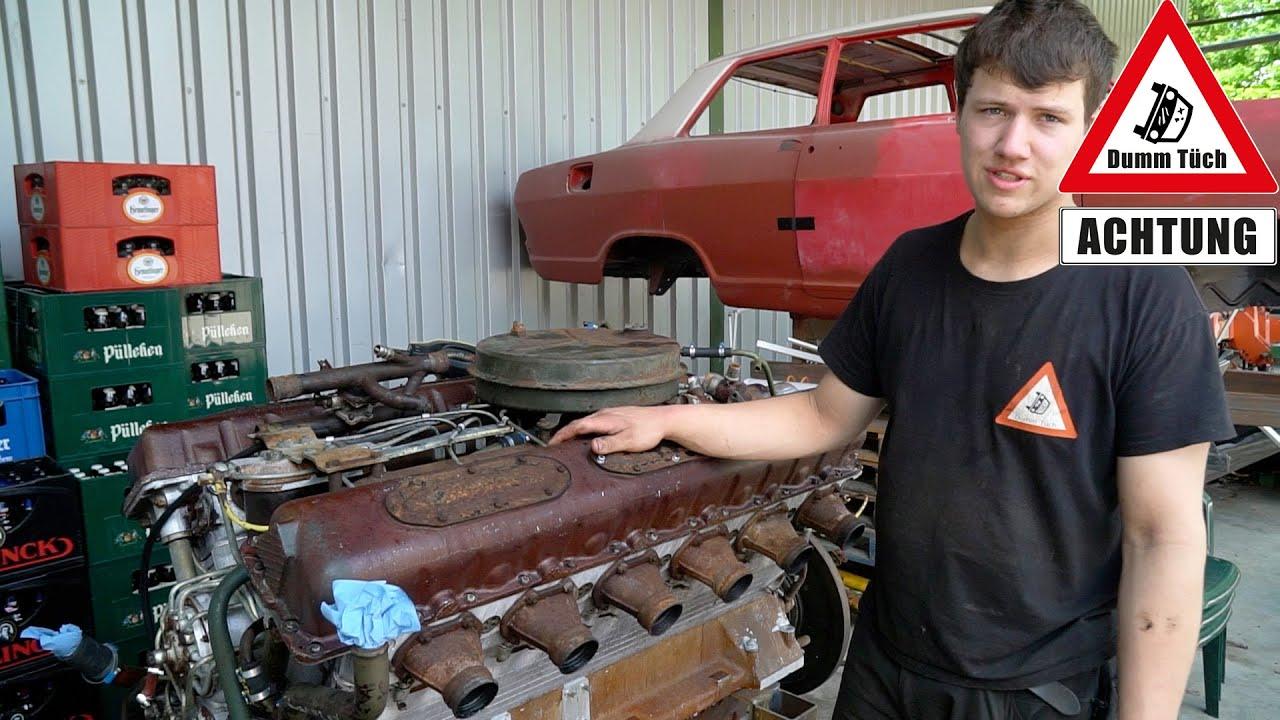V12 Dieselmotor - Was muss gemacht werden? | Dumm Tüch
