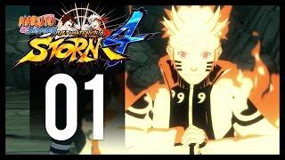 Naruto Shippuden Ultimate Ninja Storm 4 - Gameplay Part 1 - Story Mode (PS4 Let