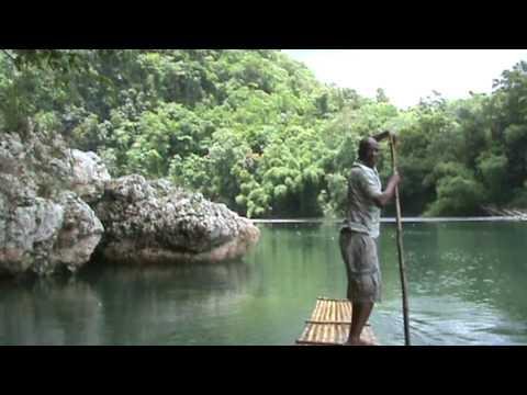 Rafting Down The Rio Grande in Port Antonio Jamaica YouTube