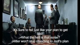 Hitler Plans To Get Jodl To Plan To Help A Fellow Unterganger Using A Plan He Planned While Planning