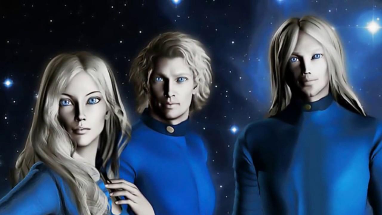 Пришельцы и девушки фото
