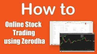 How to stock trading online using Zerodha