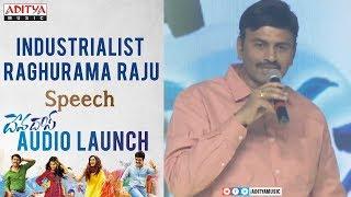 Industrialist Raghurama Raju Speech @ Devadas Audio Launch || Akkineni Nagarjuna, Nani
