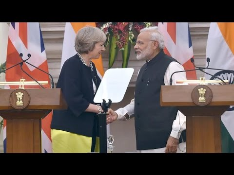 PM Modi And Theresa May's Joint Statement On Trade, Terrorism - Full Speech