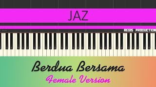 Download Lagu Jaz - Berdua Bersama FEMALE (Karaoke Acoustic) by regis mp3