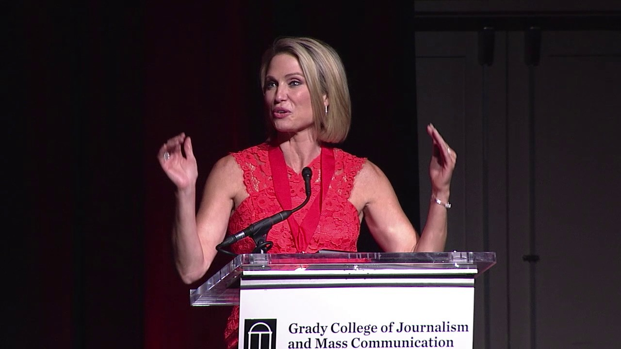 amy robach graduation speech