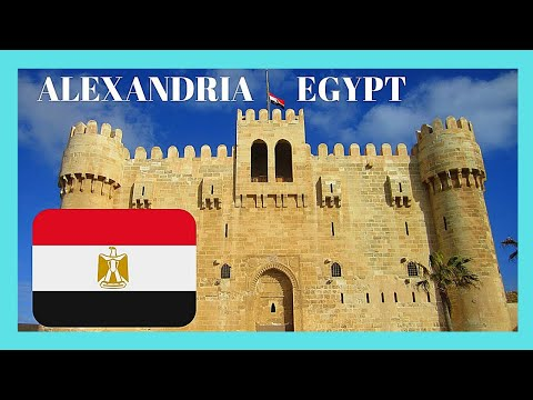 EGYPT: The historic CITY of ALEXANDRIA, what to SEE & DO in ONE DAY