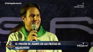 JUANFE SANZ da el PREGÓN en VALDEAVERO