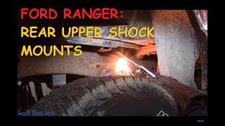 Ford Ranger: Broken Rear Shock Mounts