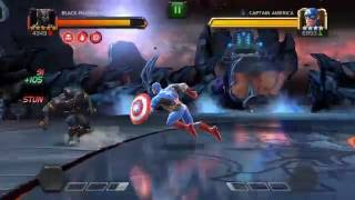 Road To The Labyrinth - Chapter 4 round 5 - Captain America | Marvel Contest Of Champions