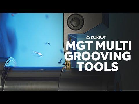Korloy MGT Multi Grooving Tools - Cutwel TV