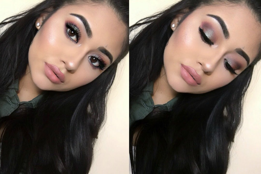 Manny MUA x Makeup Geek Palette Review and Tutorial   Michelle Andrade - YouTube