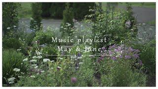 【Music playlist】May&June/5月6月の庭の映像とお花を紹介/北海道の庭/4K