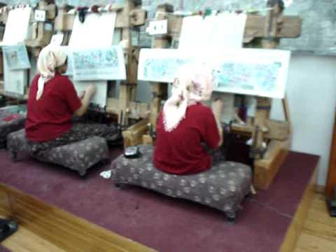 2007 05 16 f brica de alfombras en capadocia turqu a youtube - Fabricantes de alfombras ...