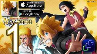 NARUTO X BORUTO Ninja Voltage Android iOS Walkthrough - Gameplay Part 1 - Chapter 1: Naruto