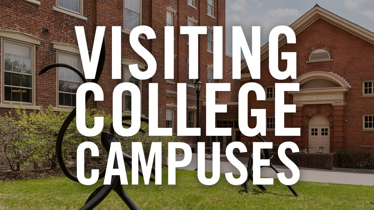 What to Do on Campus Visits | No-Stress College Search Hacks - YouTube