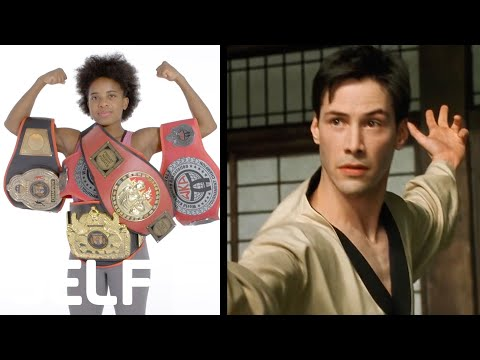 Fighting Expert Breaks Down Movie & TV Fight Moves | SELF en streaming