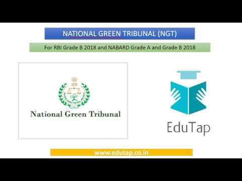 National Green Tribunal explained for RBI and NABARD 2018
