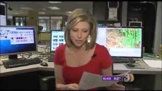 Phoenix Meteoroligist, April Warnecke shares big news on-air