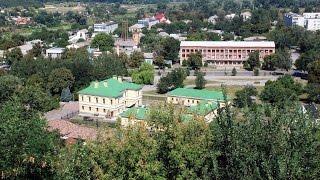 Вид на Чигирин с Богдановой горы(Фортификационное сооружение, построенное в XVII веке и являвшееся одним из основных бастионов Чигиринского..., 2016-06-03T13:45:03.000Z)